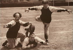 The Three Stooges, Football