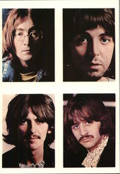 The Beatles - 4 Photos
