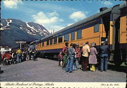 Alaska Railroad at Portage, Alaska