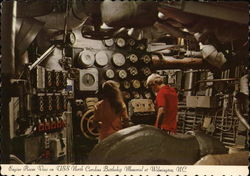 Engine Room view on USS North Carolina Battleship Memorial at Wilmington, N.C.