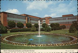 Michigan State University - Horticultural Gardens and Student Services Postcard