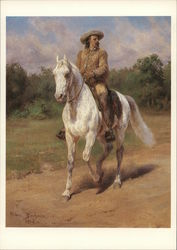Colonel William F. Cody Riding Horse