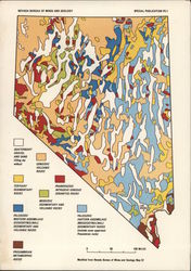 Geologic Map of Nevada