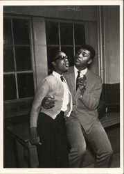 Stevie Wonder and Muhammad Ali