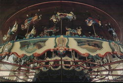 Carousel on the Santa Monica Pier
