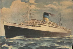 "Greek Line - T.S.S. ""New York"""