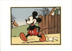 Mickey Takes a Walk