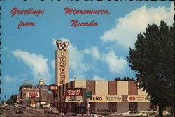 Greetings from Winnemucca, Nevada Postcard