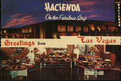 Las Vegas Hacienda International Convention Center Postcard