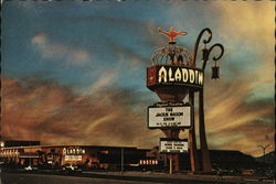 The Aladdin Hotel Postcard