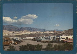 Trailer Group--Death Valley National Monument, California Postcard