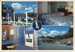 Chisholm's Motel Postcard