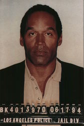 O.J. Simpson Booking Photo
