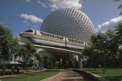Future World - Monorail and Spaceship Earth