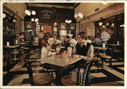 Finnigan's Ice Cream Parlor Postcard