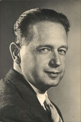 United Nations Secretary General Dag Hammarskjold