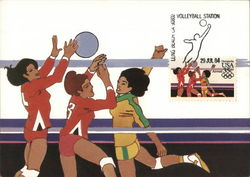 US Women's Volleyball, 1984 Olympics
