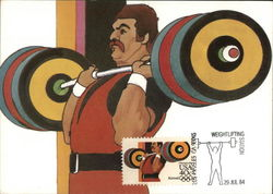 1984 Summer Olympics - Weightlifting