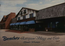 Burnstad's European Village and Cafe Postcard