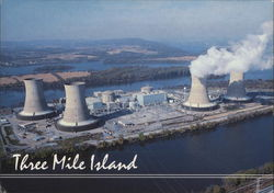 Three Mile Island Postcard
