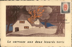 "Le Carosse aux deux lezards verts - ""House on Fire"""