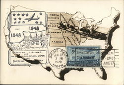 American Airlines Map of the USA