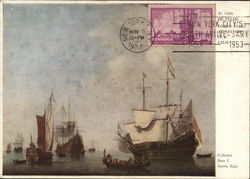 Painting of Ships by Willem Van De Velde