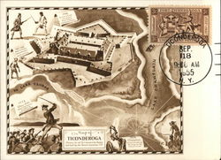 Historic Map of Fort Ticonderoga