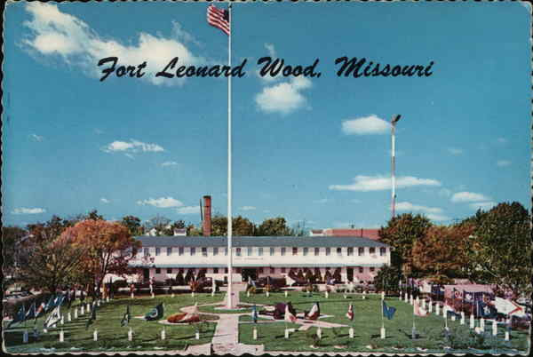 Post Headquarters Fort Leonard Wood Missouri