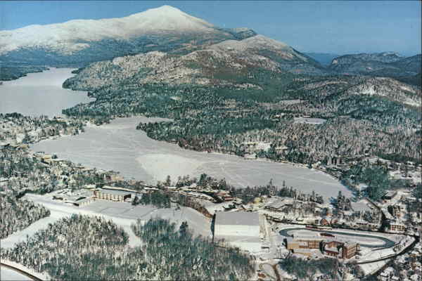 Lake Placid, 1932 - The Olympic Village - 1980 New York