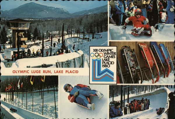 Olympic Luge Run, Lake Placid New York