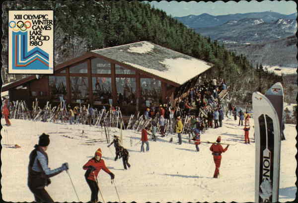 Mt. Ski Center - Mid-Station Restaurant and Warming Chalet Lake Placid New York