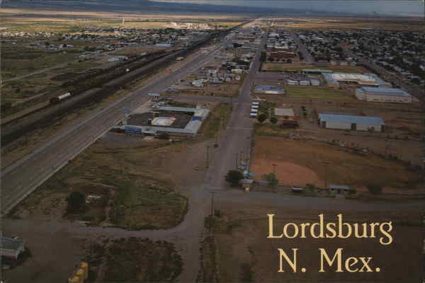 Aerial View of Lordsburg New Mexico