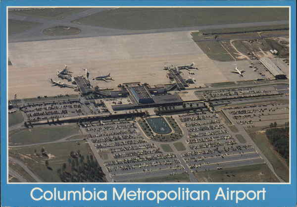Columbia Metropolitan Airport South Carolina Airports