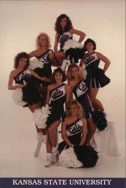 Kansas State University Varsity Cheerleaders Manhattan