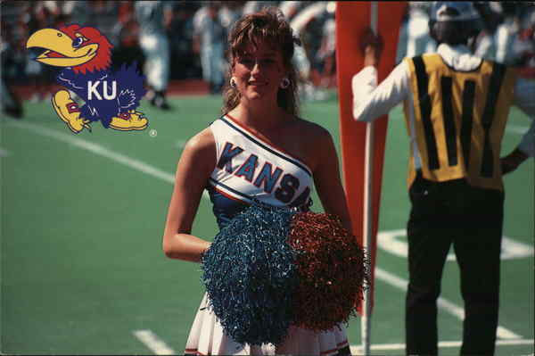Kansas State University Cheerleader Lawrence