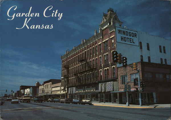 ... Hotels In Garden City Ks Hotel Garden City Ks Postcard ...