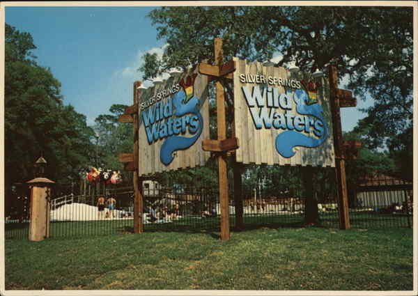 Silver Springs' Wild Waters Florida Amusement Parks