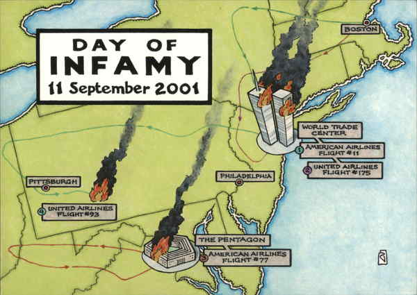 Day of Infamy 11 September 2001 Patriotic World Trade Center