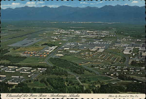 Elmendorf Air Force Base Anchorage Alaska