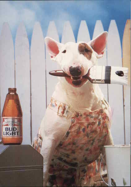 Spuds MacKenzie - Bud Light Modern (1970's to Present)