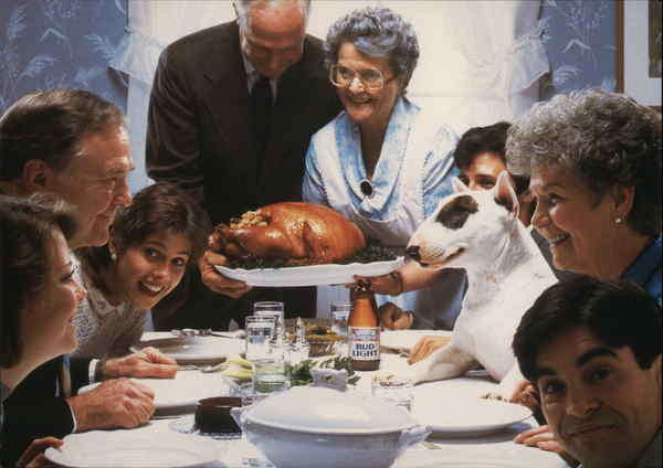 Who's the Turkey at the Table? Spuds MacKenzie, Bud Light