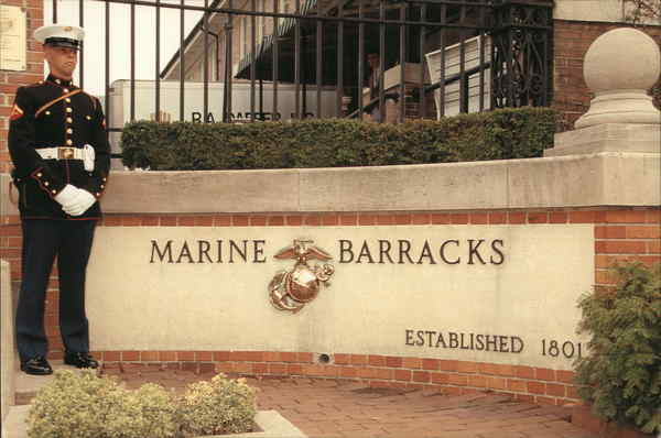 Marine Barracks Washington District of Columbia Marines