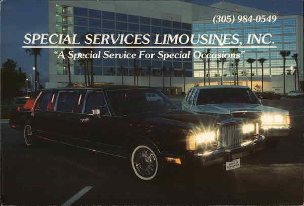 Special Services Limousines, Inc. Palm Bay Florida