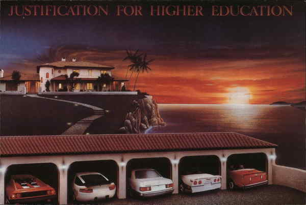 Justification for Higher Education Cars
