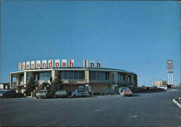 I 70 Towing >> Shenandoah Inn Old Washington, OH Postcard