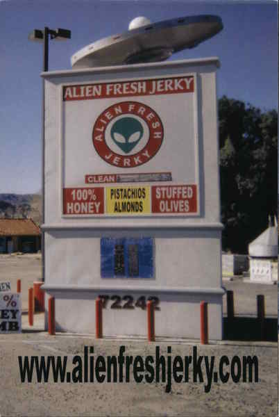 Alien Fresh Jerky Modern (1970's to Present)