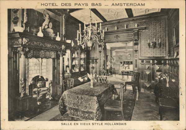 Hotel Des Pays Bas Amsterdam Netherlands Benelux Countries
