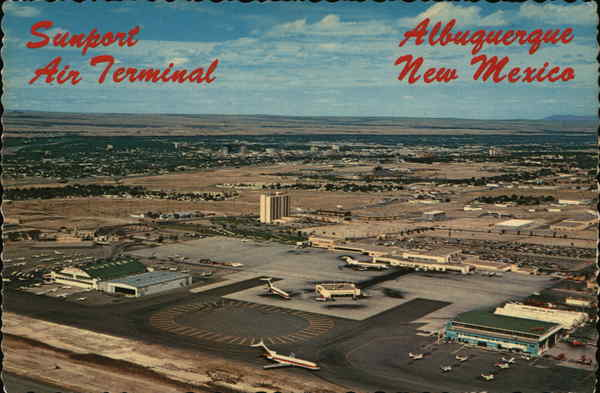 Sunport Air Terminal Albuquerque New Mexico