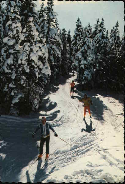 X-Country Ski Trails Lake Placid New York Olympics